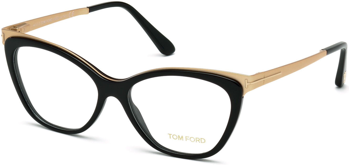 TOM FORD FT5374 style-color 001   - shiny black