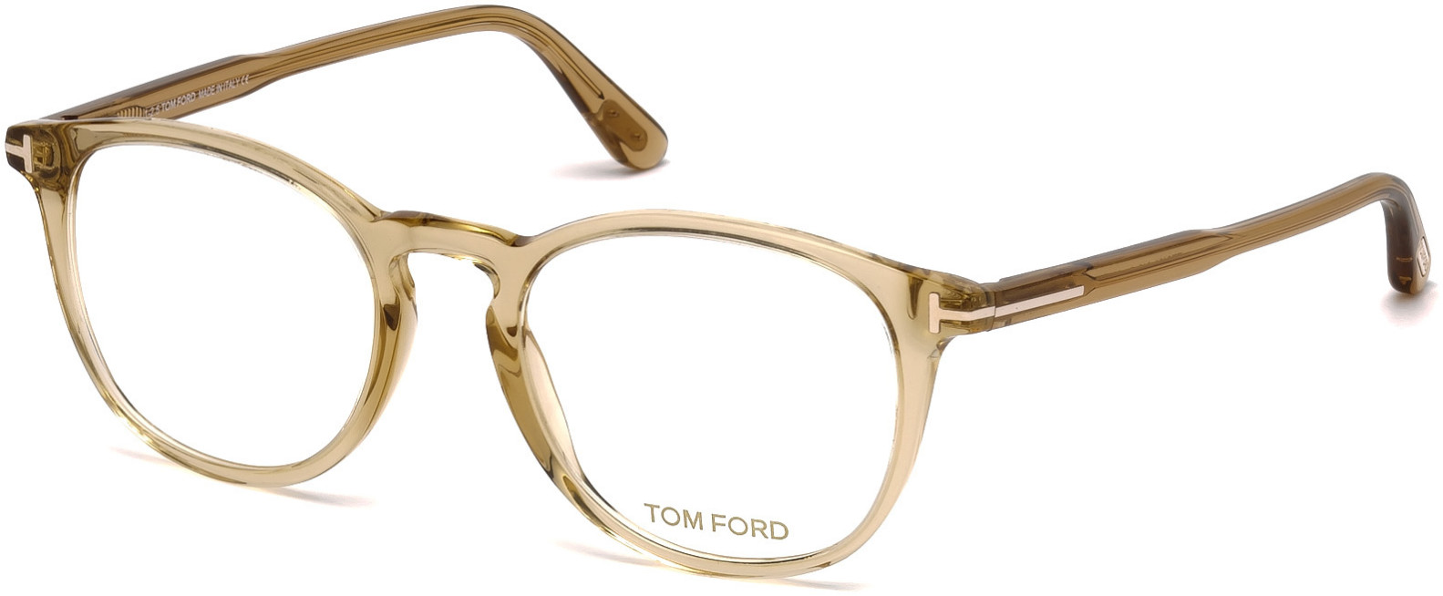 TOM FORD FT5401 style-color 045   - shiny light brown