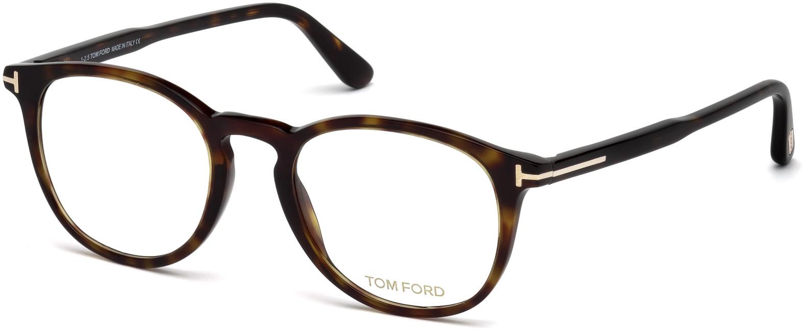 TOM FORD FT5401 style-color 052   - dark havana