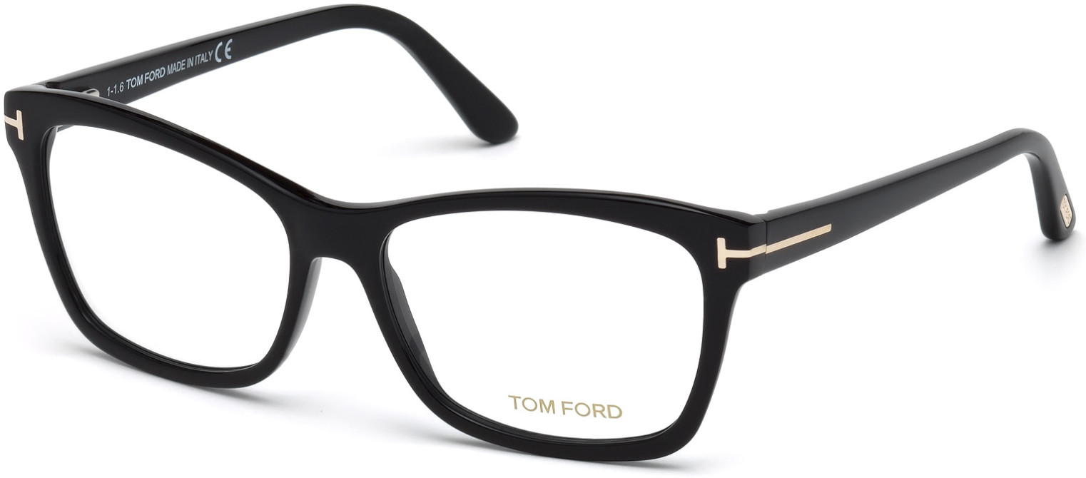 TOM FORD FT5424 style-color 001 - Shiny Black