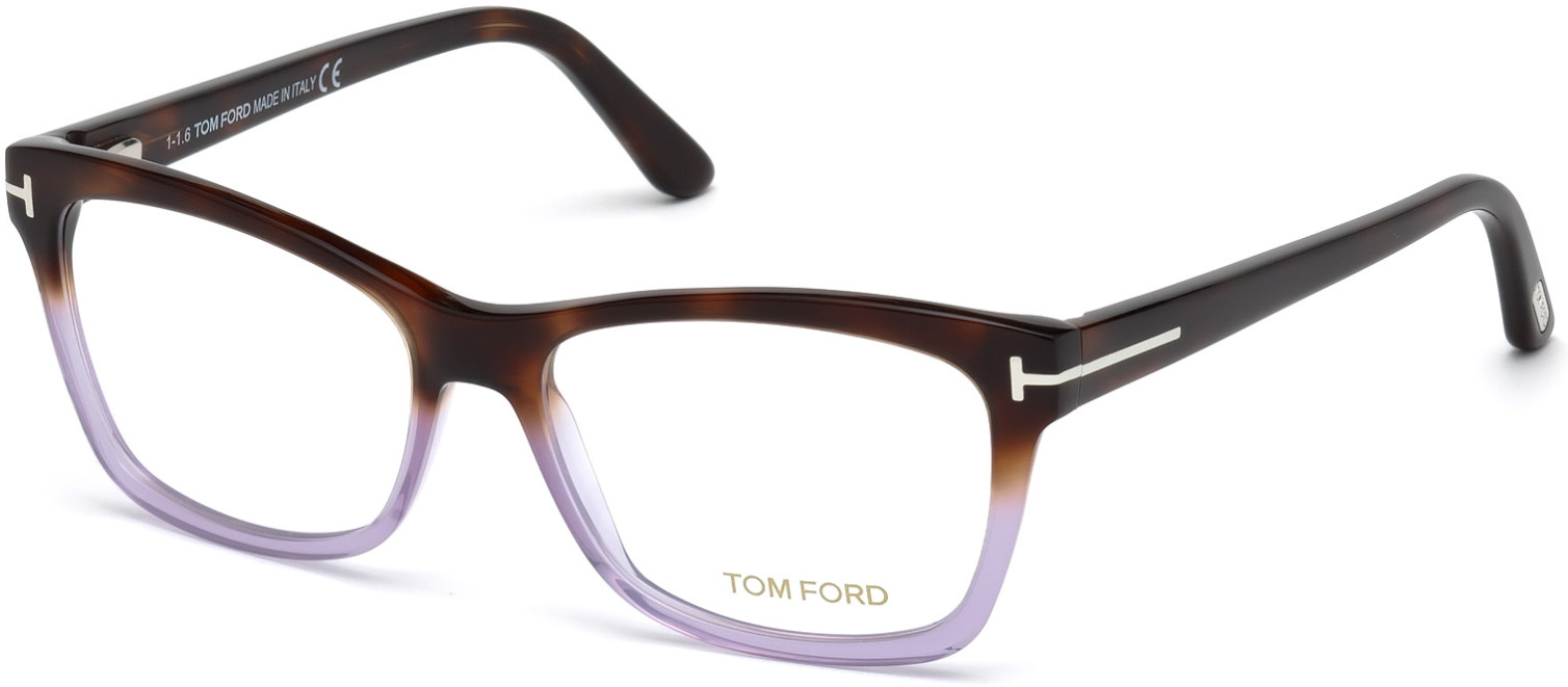 TOM FORD FT5424 style-color 56A - Havana / Other / Smoke