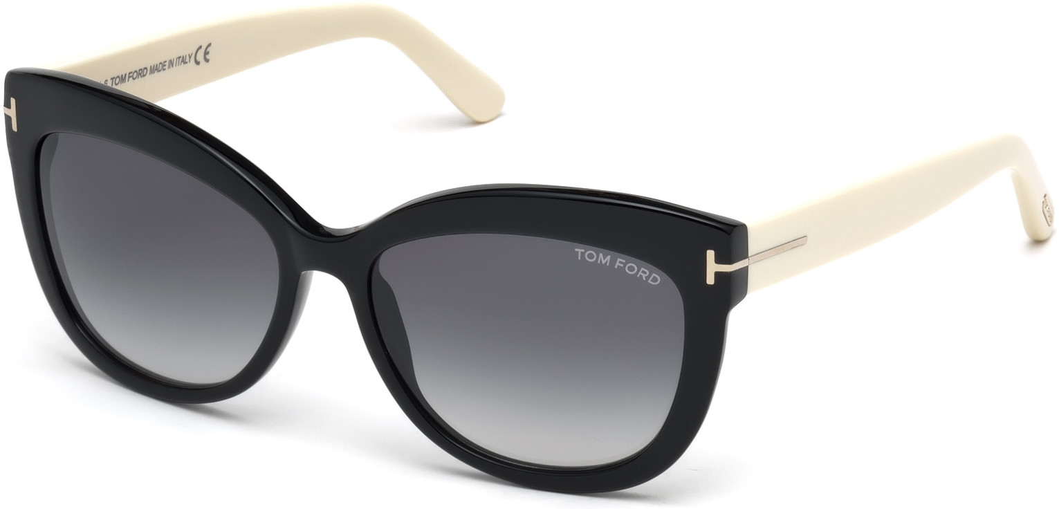 TOM FORD FT0524 ALISTAIR 6006 style-color 05B Black / Other / Gradient Smoke