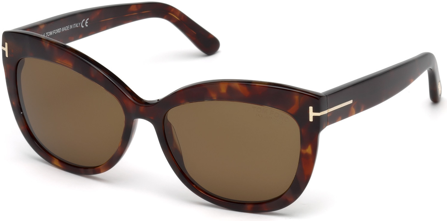 TOM FORD FT0524 ALISTAIR 6006 style-color 54H Red Havana / Brown Polarized