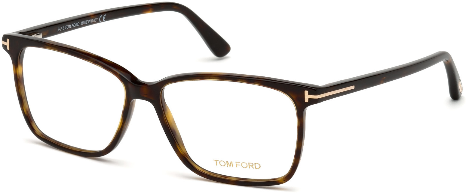 TOM FORD FT5478-B 5700 style-color 052 Dark Havana