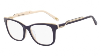 DVF 5110 style-color (410) Navy Cream Laminate