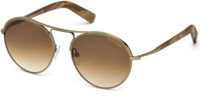TOM FORD JESSIE FT0449 style-color 33F - gold/other / gradient brown