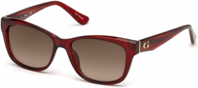 GUESS GU7538 16554 style-color 66F Shiny Red / Gradient Brown