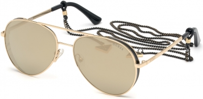 GUESS GU7607 34764 style-color 32G Gold / Brown Mirror