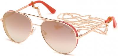 GUESS GU7607 34764 style-color 28U Shiny Rose Gold / Bordeaux Mirror