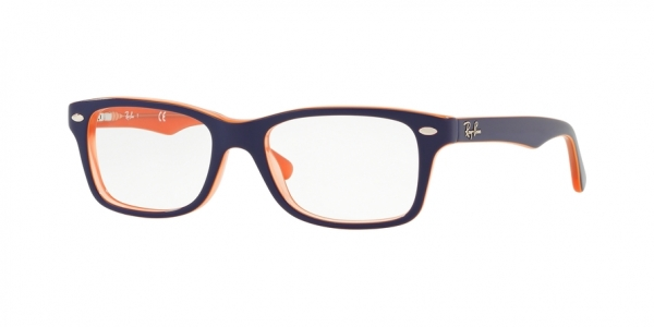 RAY-BAN RY1531 style-color 3762 Orange Trasp ON Top Blue