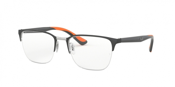 RAY-BAN RX6428 style-color 3004 Silver ON Top Grey