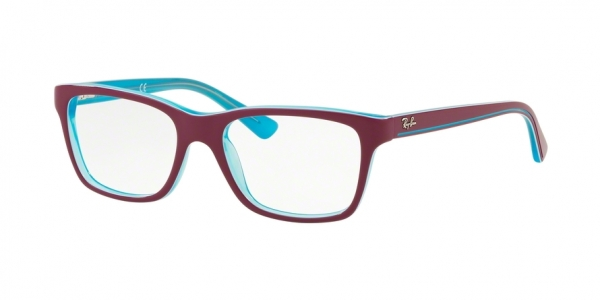 RAY-BAN RY1536 style-color 3763 Trasp Azure ON Top Fuxia