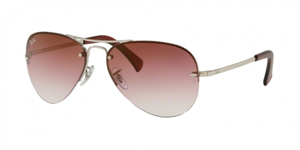 RAY-BAN RB3449 style-color 91280T Silver