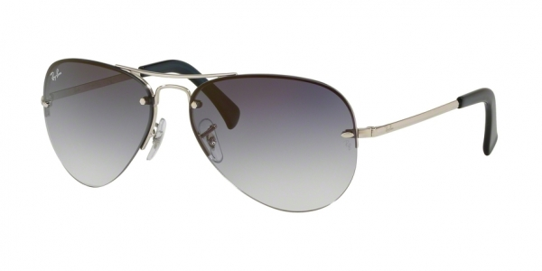 RAY-BAN RB3449 style-color 91290S Silver