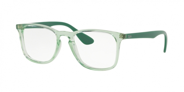 RAY-BAN RX7074 style-color 5862 Trasparent Green