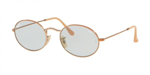 RAY-BAN RB3547N OVAL style-color 91310Y Copper