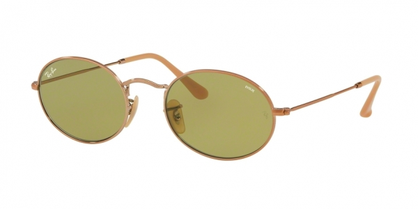 RAY-BAN RB3547N OVAL style-color 91314C Copper