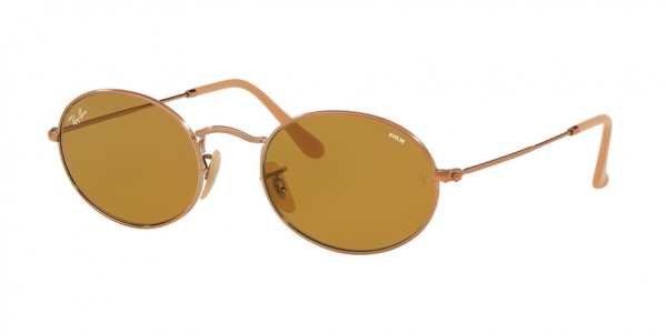 RAY-BAN RB3547N OVAL style-color 91314I Copper