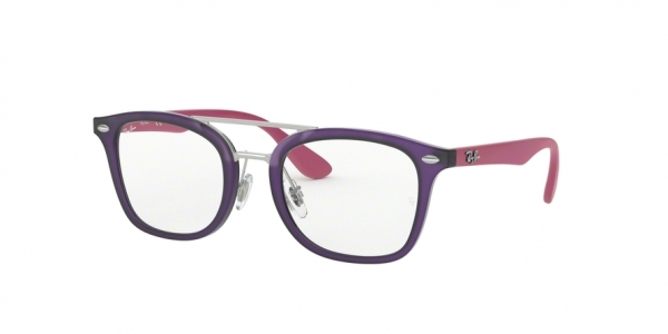 RAY-BAN RY1585 style-color 3781 Matte Transparent Violet