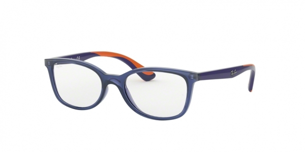 RAY-BAN RY1586 style-color 3775 Transparent Blue