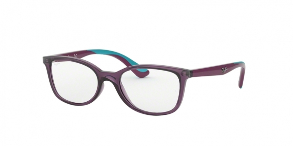 RAY-BAN RY1586 style-color 3776 Transparent Violet