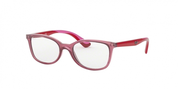 RAY-BAN RY1586 style-color 3777 Transparent Red