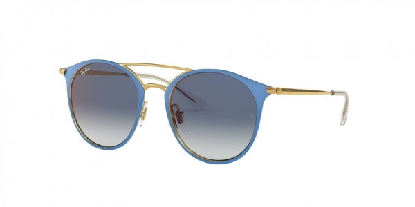 RAY-BAN RJ9545S style-color 273/X0 Gold ON Top Light Blue