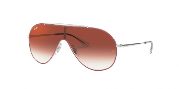 RAY-BAN RJ9546S style-color 274/V0 Silver ON Top Red