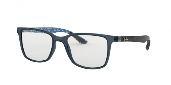RAY-BAN RX8905 style-color 5844 Trasparent Blue