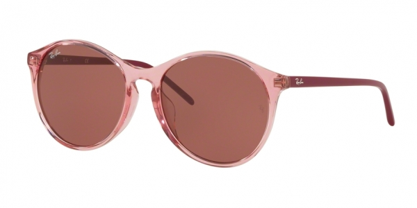 RAY-BAN RB4371F ASIAN FIT style-color 126575 Trasparent Pink