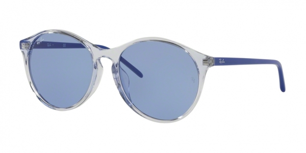RAY-BAN RB4371F ASIAN FIT style-color 126676 Trasparent Light Blue
