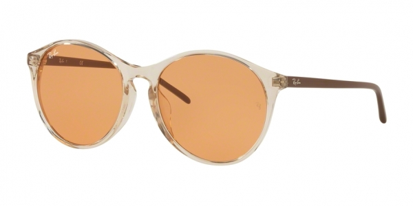 RAY-BAN RB4371F ASIAN FIT style-color 126774 Trasparent Light Brown