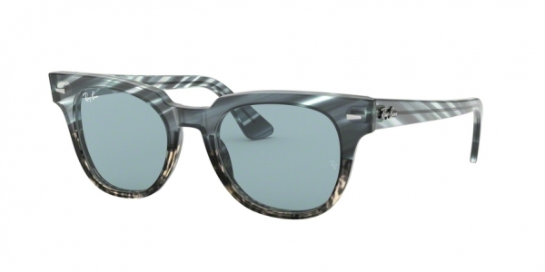 RAY-BAN RB2168 METEOR style-color 125262 Blue Gradient Grey Stripped