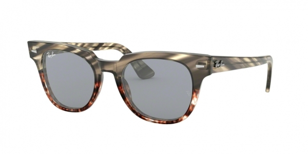 RAY-BAN RB2168 METEOR style-color 1254Y5 Grey Gradient Brown Stripped