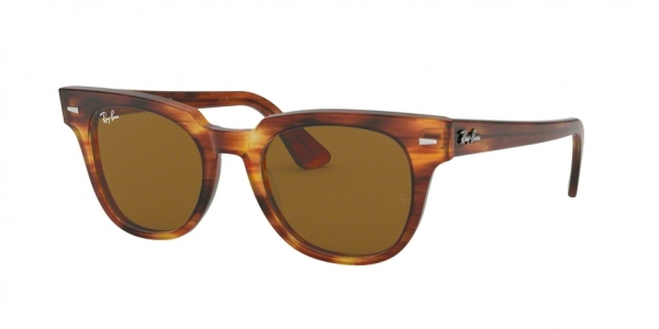 RAY-BAN RB2168 METEOR style-color 954/33 Stripped Havana