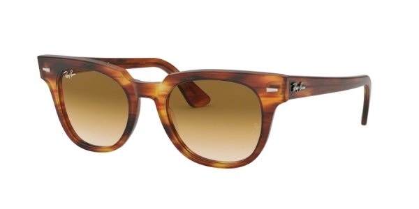 RAY-BAN RB2168 METEOR style-color 954/51 Stripped Havana