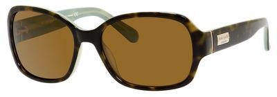 KATE SPADE AKIRA/P/S style-color Tortoise Mint OTJA / Brown Polarized VW Lens