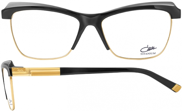 CAZAL 2501 style-color 001 Black-Grey-Gold