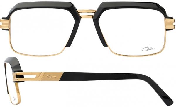 CAZAL 6020 style-color 001 – Black-Gold/Grey Lenses