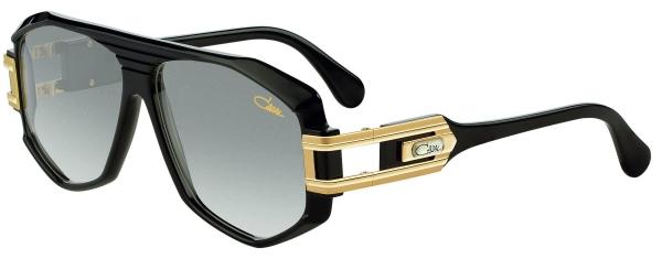 CAZAL LEGENDS 163 SUN style-color 001 – Black-Gold/Grey Gradient Lenses