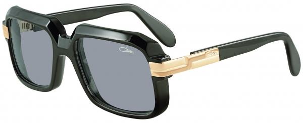 CAZAL LEGENDS 607 SUN style-color 001 – Black-Gold/Grey Lenses
