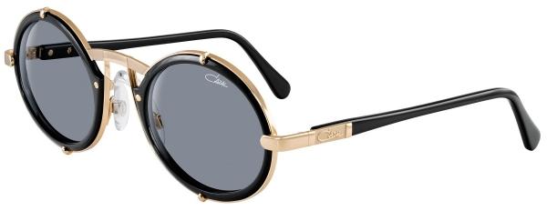 CAZAL 644 style-color 001 – Black-Gold/Grey Gradient lenses