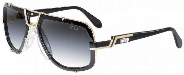 CAZAL LEGENDS 656 style-color 001–Black-Gold/Grey Gradient lenses