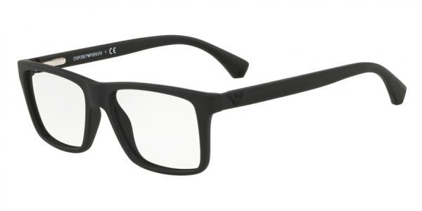 EMPORIO ARMANI EA3034 style-color 5649 Black Rubber