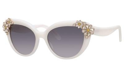 KATE SPADE KARYNA/S style-color Opal White 06WM/F8 / gray gradient lens F8