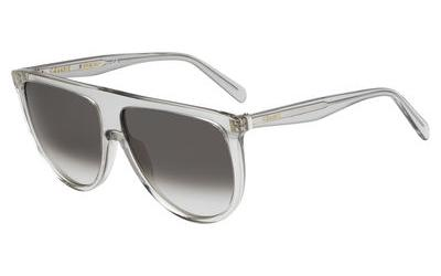 CELINE 41435/S THIN SHADOW style-color Transparent Gray 0RDN