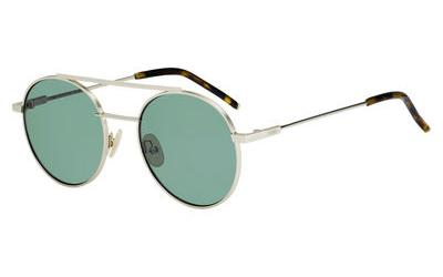 FENDI 0221/S style-color Gold 0J5G / green lens