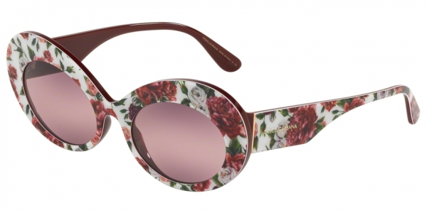DOLCE & GABBANA DG4345 style-color 3194W9 Rose And Peony / pink bigradient purple Lens