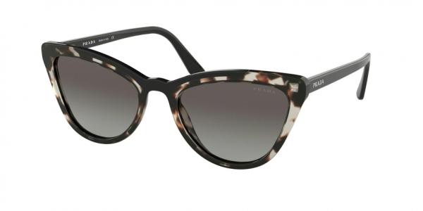 PRADA PR 01VS CONCEPTUAL style-color 3980A7 Opal Spotted Brown / Black