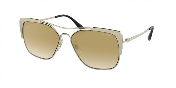 PRADA PR 54VS CONCEPTUAL style-color 3302G2 Pale Gold / Matte Pale Gold